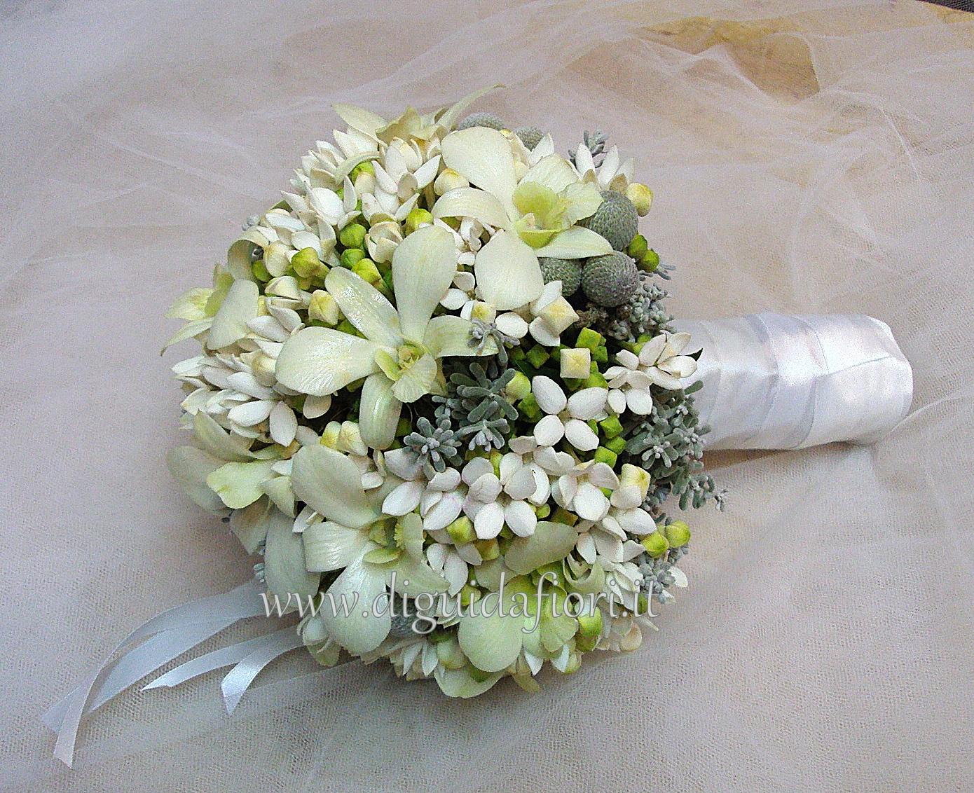 Conosciuto Bouquet Fiori da Sposa - Fiorista Roberto Di Guida KJ08