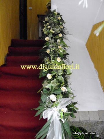 Matrimonio Blog: addobbo scala matrimonio foto
