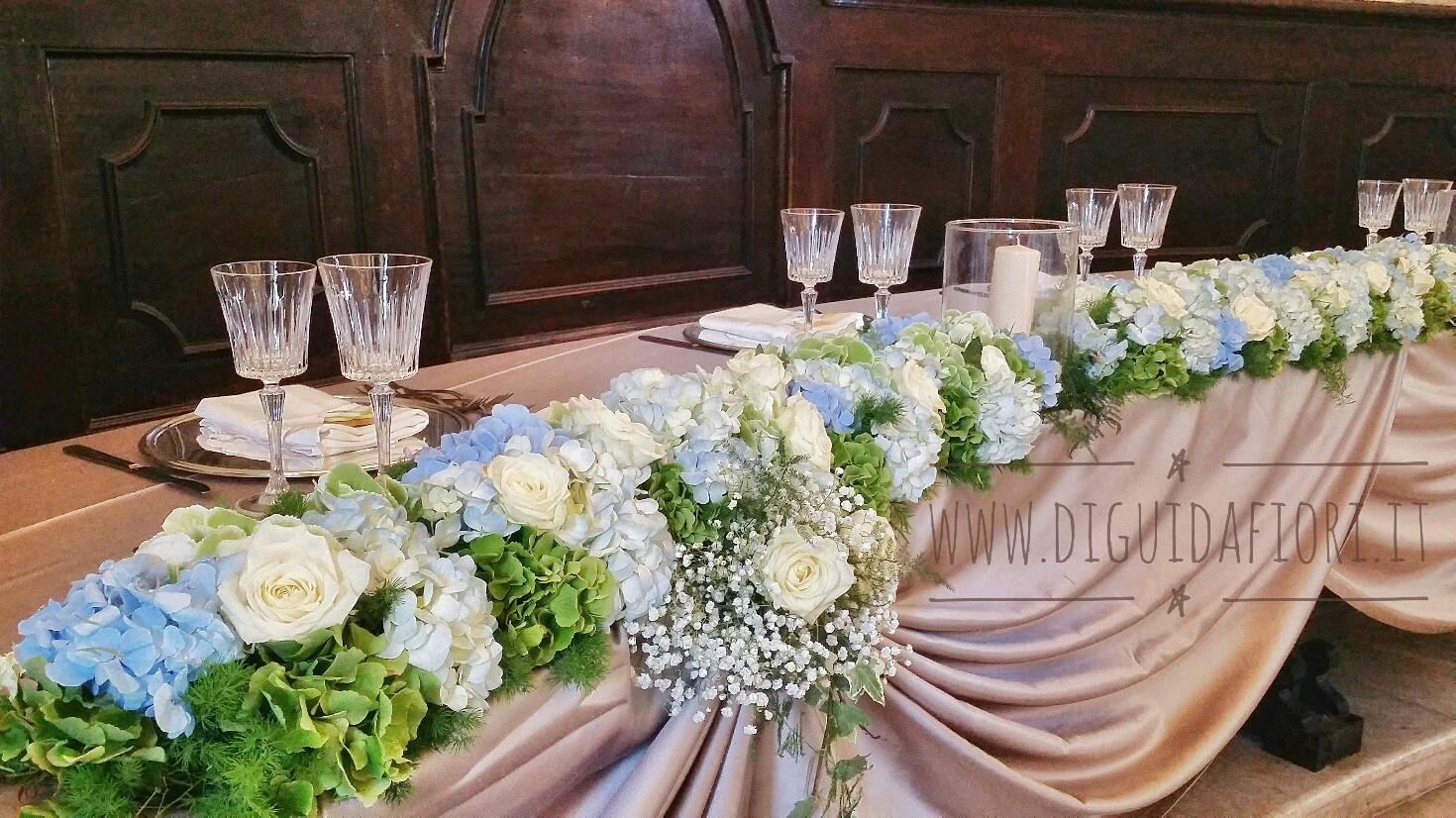 Addobbi Floreali Matrimonio Azzurro : Composizioni floreali di colore azzurro fiorista roberto