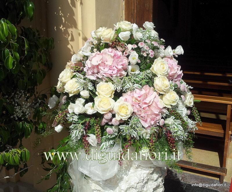 Ortensie Rosa Matrimonio : Composizioni floreali di colore rosa antico fiorista
