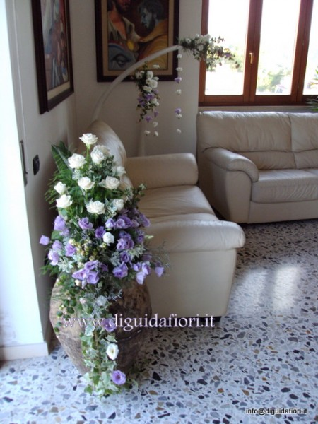 Fiori per matrimonio fiorista roberto di guida - Addobbi matrimonio casa della sposa ...