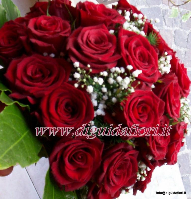 Preferenza Bouquet da sposa con rose rosse - Fiorista Roberto Di Guida SY78