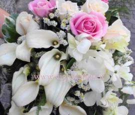 bouquet da sposa bianco e lilla-dettagli-sposa