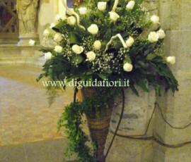 addobbi floreali con rose vendela