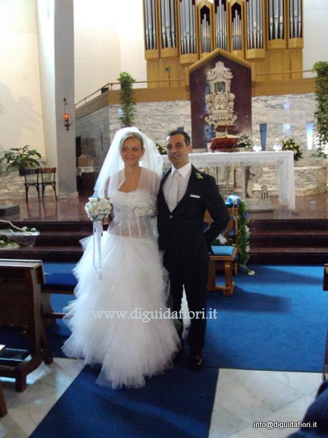 Segnaposto Matrimonio Azzurro : Matrimonio francesca e valerio fiorista roberto di guida