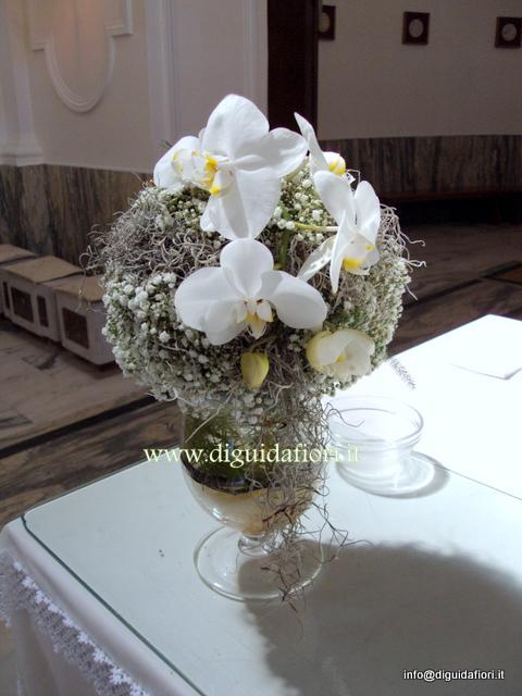 Matrimonio Tema Orchidee : Matrimonio claudia e valerio fiorista roberto di guida
