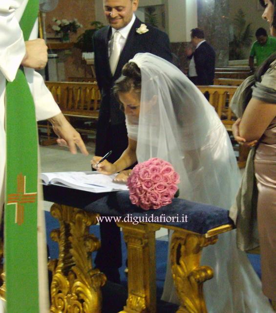 La firma degli sposi – chiesa San Giovanni dei Fiorentini