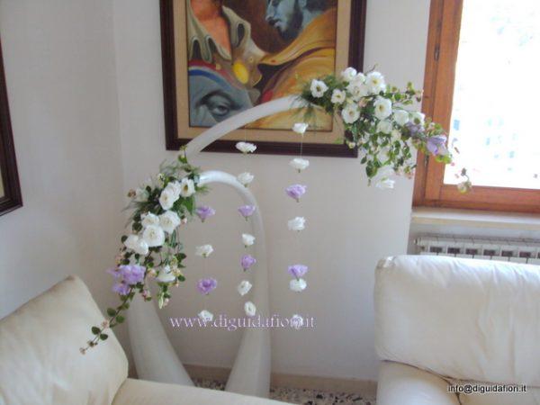 Addobbi floreali a casa della sposa fiorista roberto di guida - Addobbi matrimonio casa della sposa ...