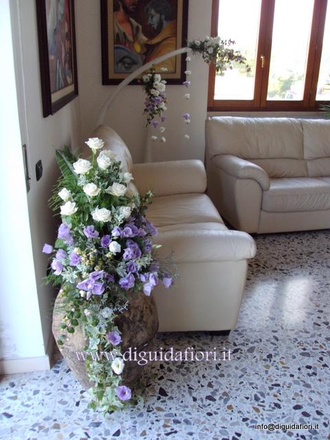 Addobbi floreali a casa della sposa fiorista roberto di guida - Addobbi floreali casa sposa ...