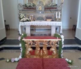 altare chisa santa maria del faro