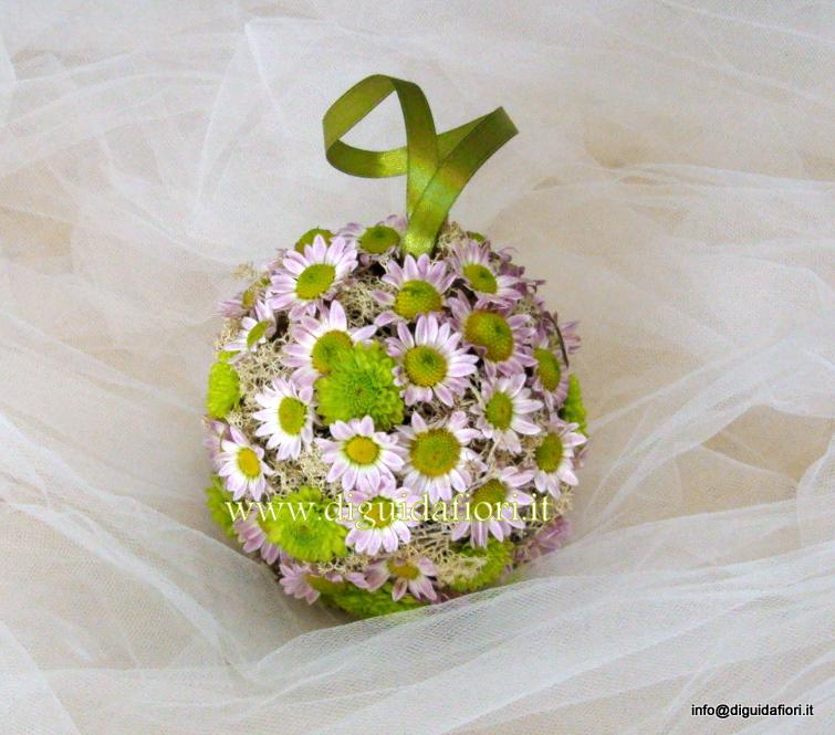 Bouquet per damigella a sfera