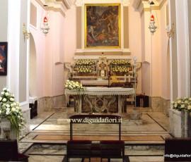 addobbo floreale del Santuario di San Gennaro a Pozzuoli