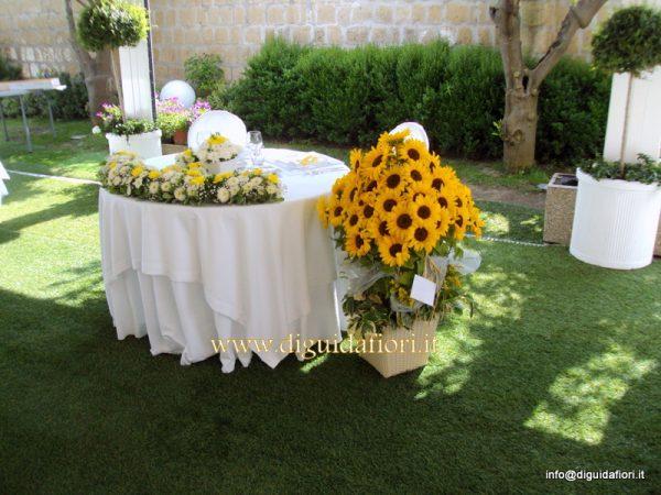 Girasoli Finti Matrimonio : Matrimonio di sergio e valentina sposi napoli fiorista