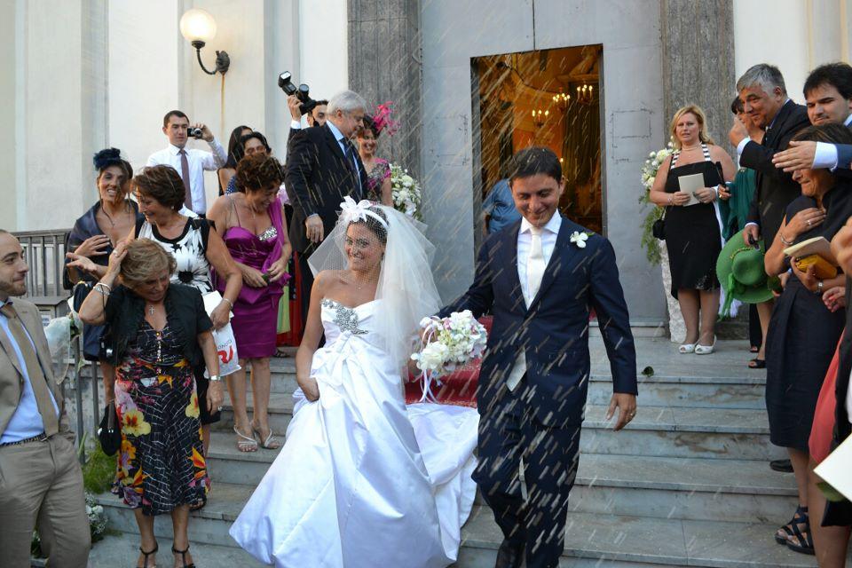 Matrimonio di Valentina e Attilio – Chiesa Santa Maria del Soccorso all'Arenella