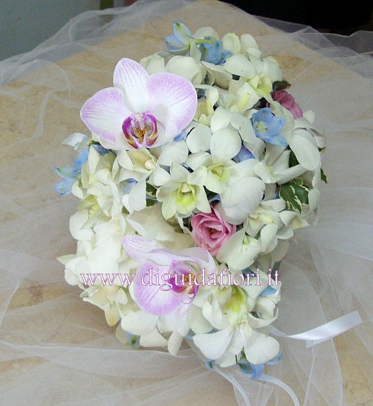Bouquet Da Sposa Orchidee.Bouquet Da Sposa Con Orchidee Fiorista Roberto Di Guida
