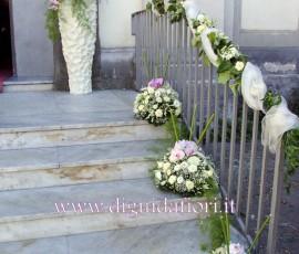 Bouquet da sposa con rose vendela e lisianthus glicine sposa napoli bed mattress sale - Addobbo tavolo casa della sposa ...