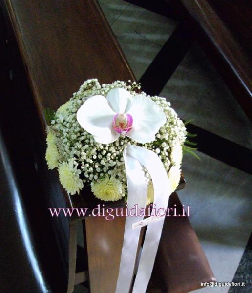 Matrimonio Tema Orchidee : Segnaposto per panche con orchidee dettagli matrimonio