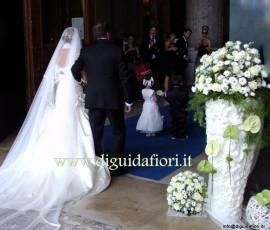 ingresso della sposa nella Basilica di San Francesco di Paola (Napoli)