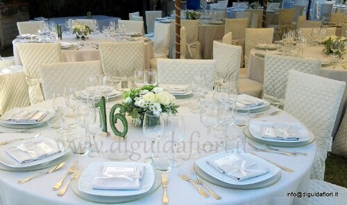 Matrimonio Tema Verde : Centrotavola floreale a forma squadrata matrimonio in