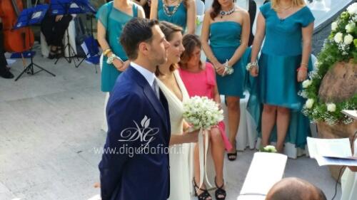 Matrimonio di Maria Paola e Piero – Villa Cilento – Posillipo Napoli