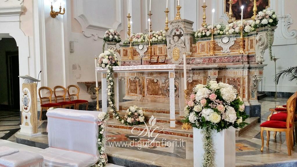 Fiori Matrimonio Girasoli : Addobbo floreale per matrimonio chiesa di san michele