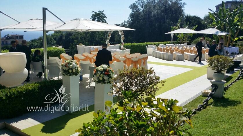 Matrimonio con rito civile – Villa Cilento Posillipo Napoli