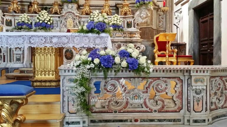 Rose Avalanche E Ortensie : Matrimonio di umberto e diana chiesa san giuseppe a