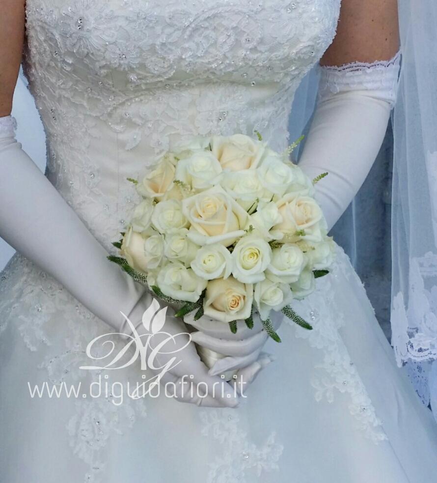 Bouquet da sposa elegante – Accessori per matrimonio