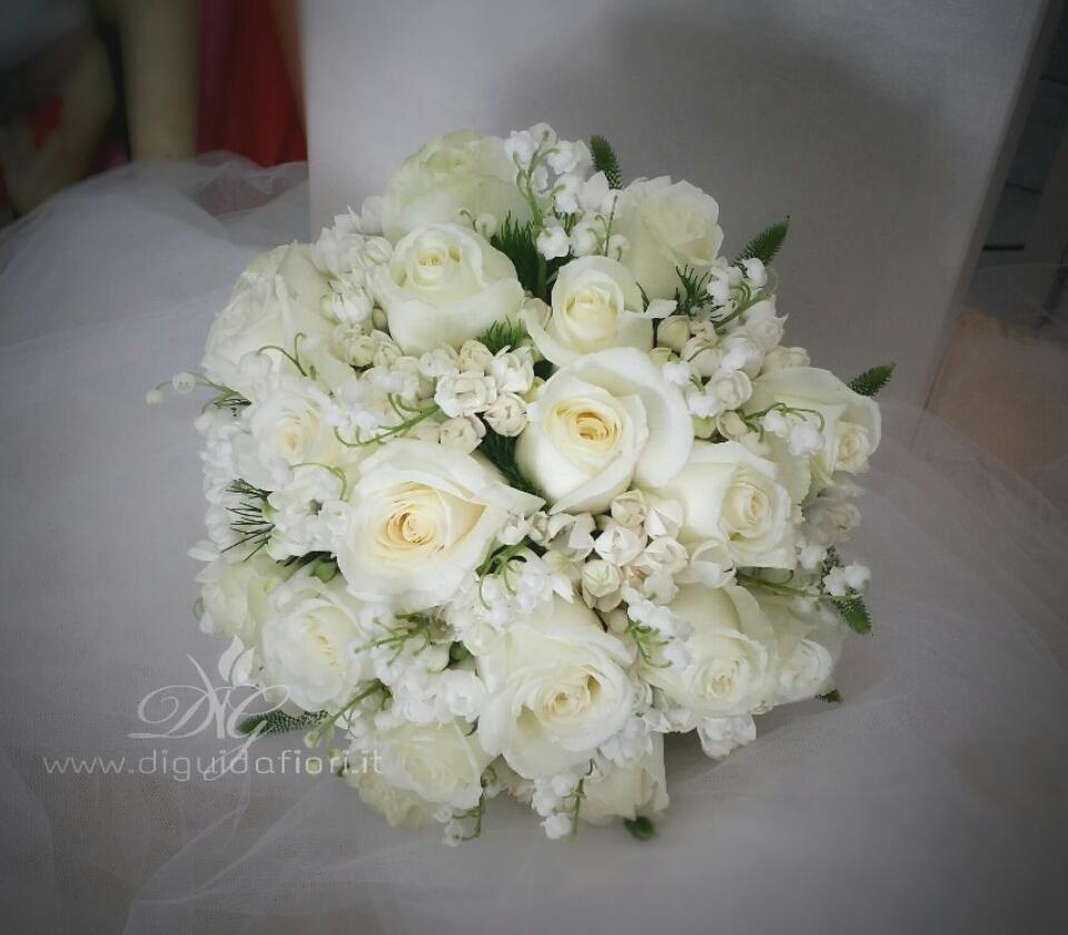 Bouquet da sposa elegante e raffinato – Dettagli per matrimonio