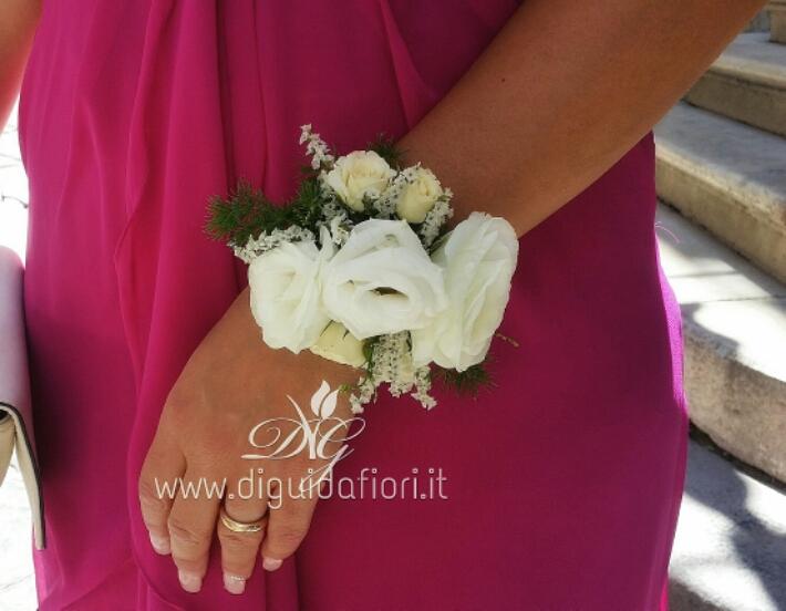 Bracciale per damigella d'onore – accessori per matrimonio
