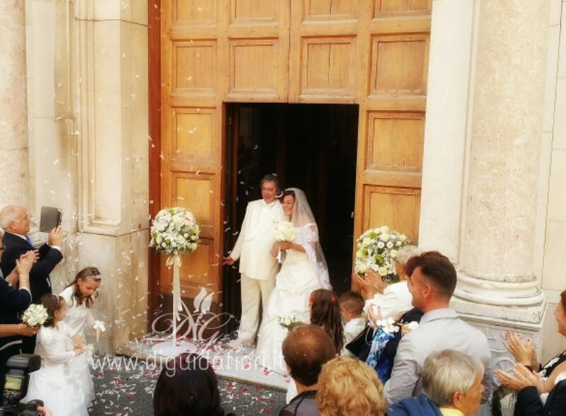 Addobbo floreale per il Duomo di Sorrento – Matrimonio in costiera