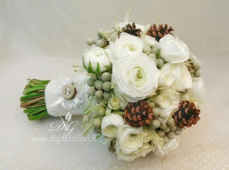 Bouquet Sposa Invernale.Bouquet Da Sposa Invernale Fiorista Roberto Di Guida