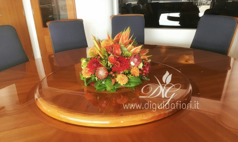 Composizioni floreali per yacht – Flowers for yacht