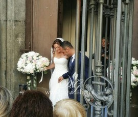 Addobbo floreale per matrimonio – Chiesa Santa Caterina a Chiaia Napoli
