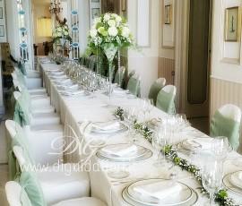 Tavolo imperiale per matrimonio – Villa Cilento Posillipo Napoli
