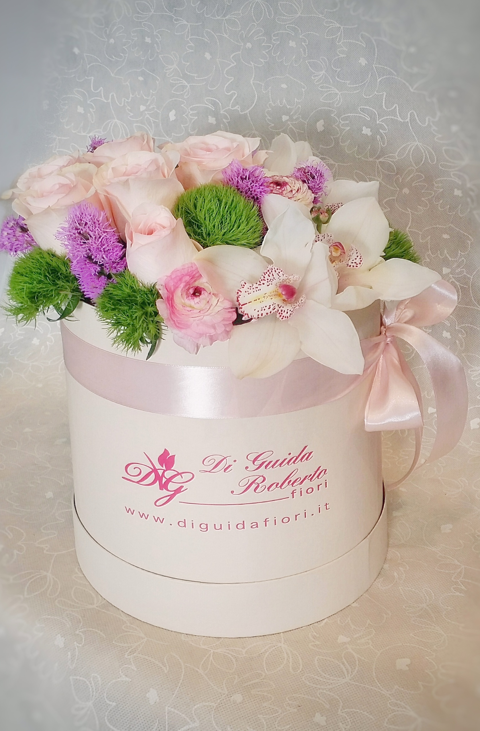 Fiori in scatola – Flowers in a gift box