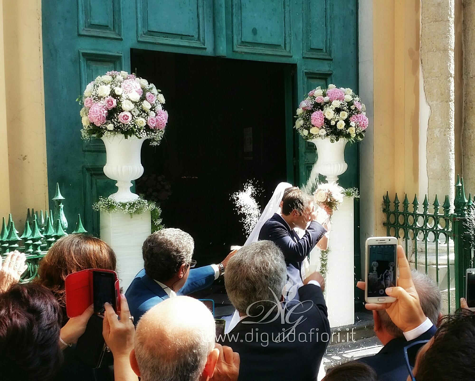 abbastanza Composizioni floreali per matrimonio - Chiesa San Francesco D  IT73