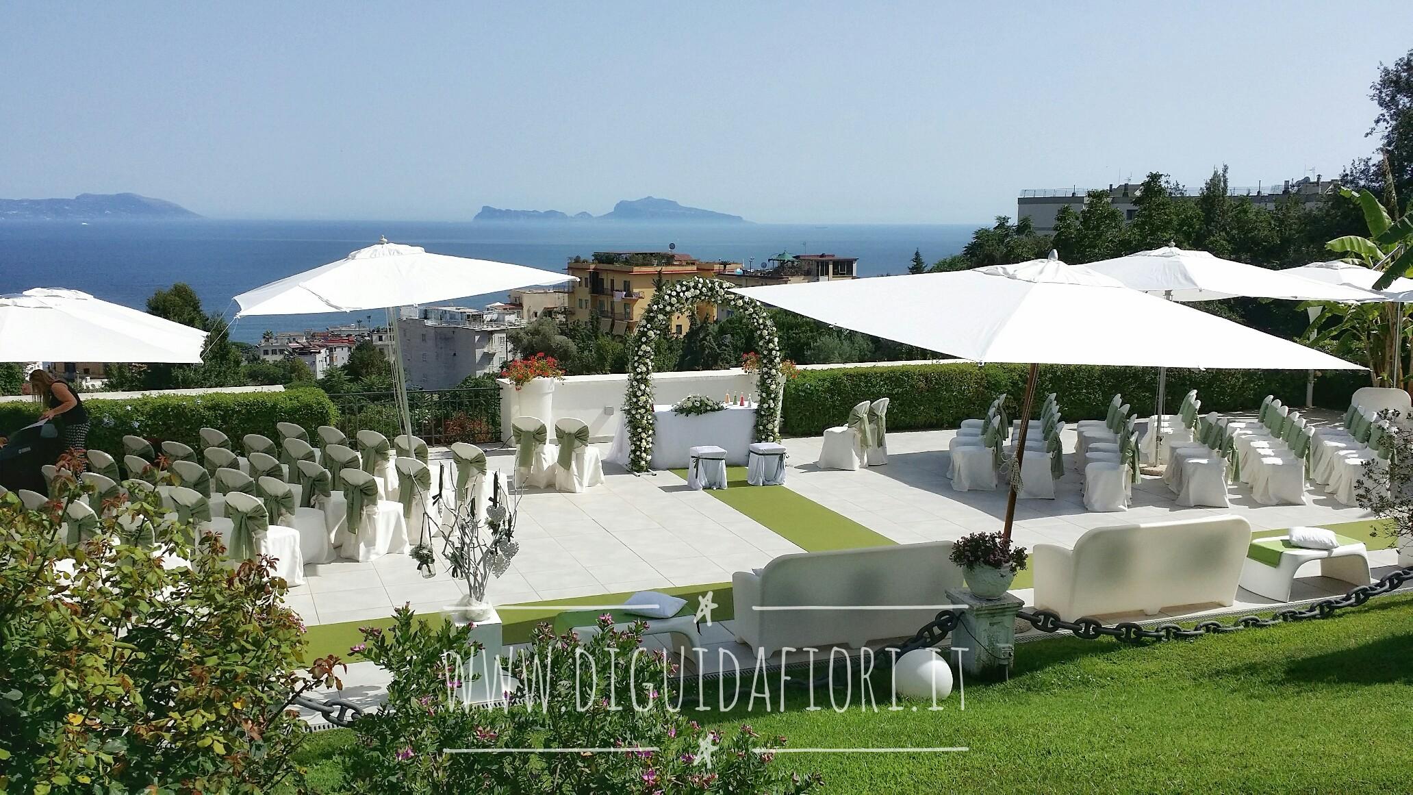 Matrimonio a Villa Cilento – Eventi Napoli – fioraio napoli