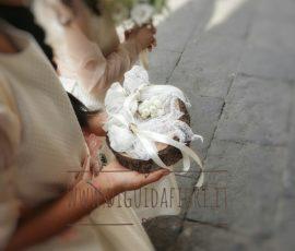 Portafedi per matrimonio -fioraio napoli
