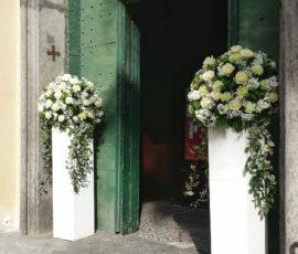 Addobbo floreale per matrimonio – Chiesa Santa Teresa a Chiaia