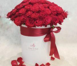 Rose rosse in scatola – Red Rose in box