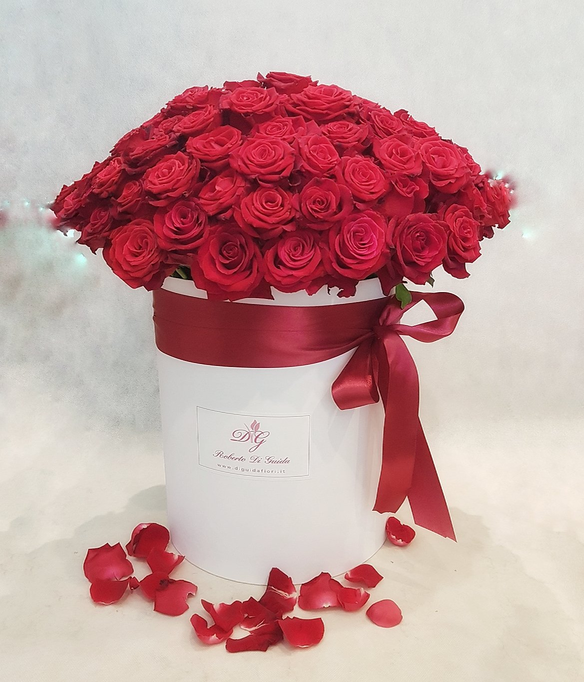 Rose rosse in scatola – Red Rose in box