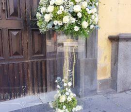Composizioni floreali per matrimonio – Parrocchia Santa Maria a Quarto