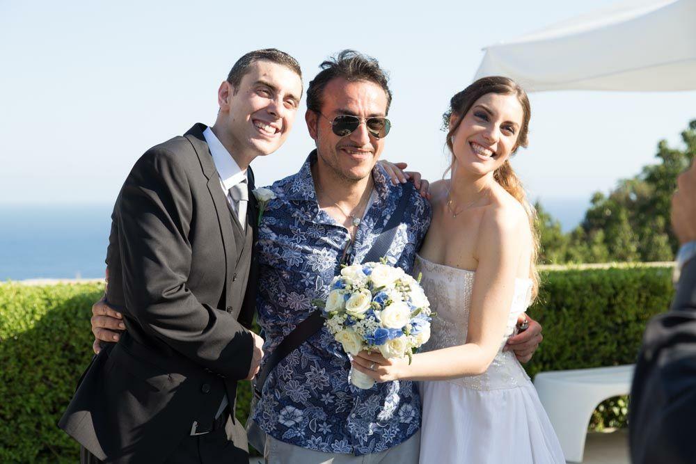 Matrimonio di Maura e Marco –  rito civile in Villa Cilento