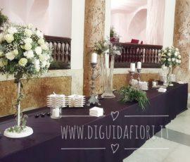 Composizioni floreali per il Salone Margherita a Napoli