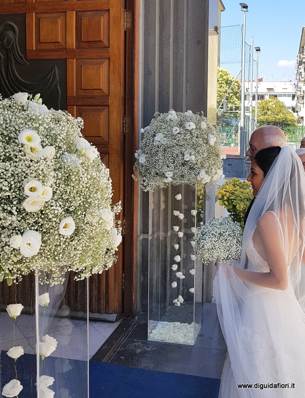 Bouquet Sposa Nebbiolina.Matrimonio Di Simona E Piero Fiorista Roberto Di Guida
