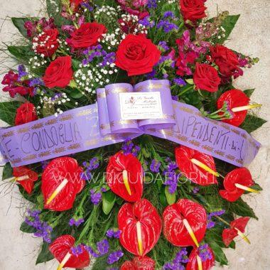 fiori per condoglianze